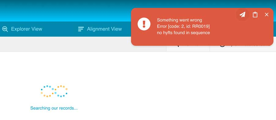 More productive error message interactions, Open a support ticket directly from the error popup